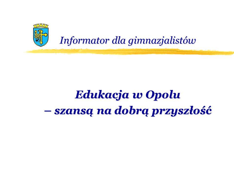 Terminarz rekrutacji W Opolu wdrożony został elektroniczny system naboru do szkół ponadgimnazjalnych na rok szkolny 2010/2011.