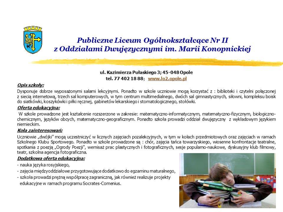 Publiczne Liceum Ogólnokształcące Nr III z Oddziałami Dwujęzycznymi im.
