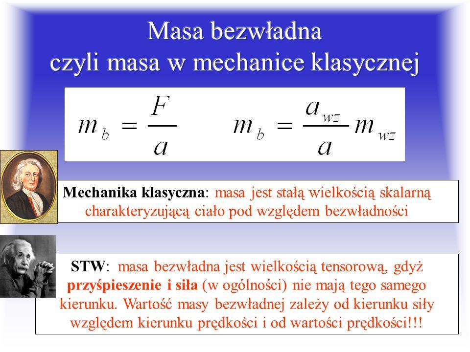 Masa jest ilością materii w ciele sir Isaac Newton