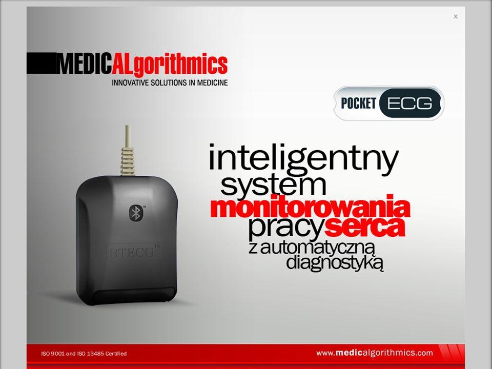 WWW.MEDICALGORITHMICS.COM Telemetryczny system do diagnostyki zaburzeń rytmu serca