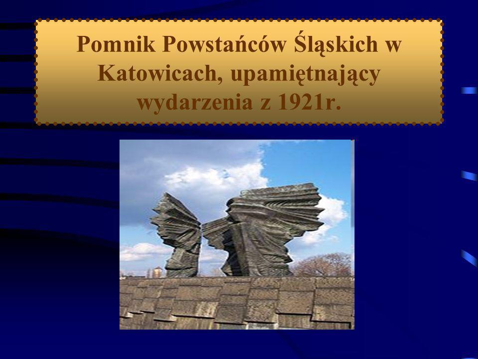 Skutki powstania: 1. Polacy otrzymali 1/3 obszaru plebiscytowego, na którym: mieszkało 46% ludności znajdowały się 53 kopalnie węgla było 9 stalowni 2