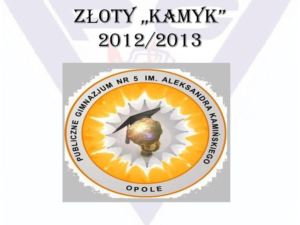 Z Ł OTY KAMYK najlepszy z najlepszych KLASY TRZECIE Z ł otego Kamyka otrzymuje: Natalia Biel