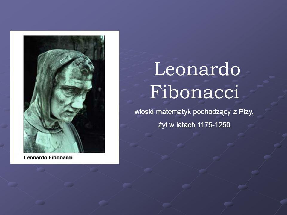 Bez większej przesady można powiedzieć, że europejska matematyka po wielu wiekach uśpienia zaczęła się odradzać na przełomie XII i XIII wieku dzięki i za sprawą Fibonacciego nazwanego też Leonardo z Pizzy.
