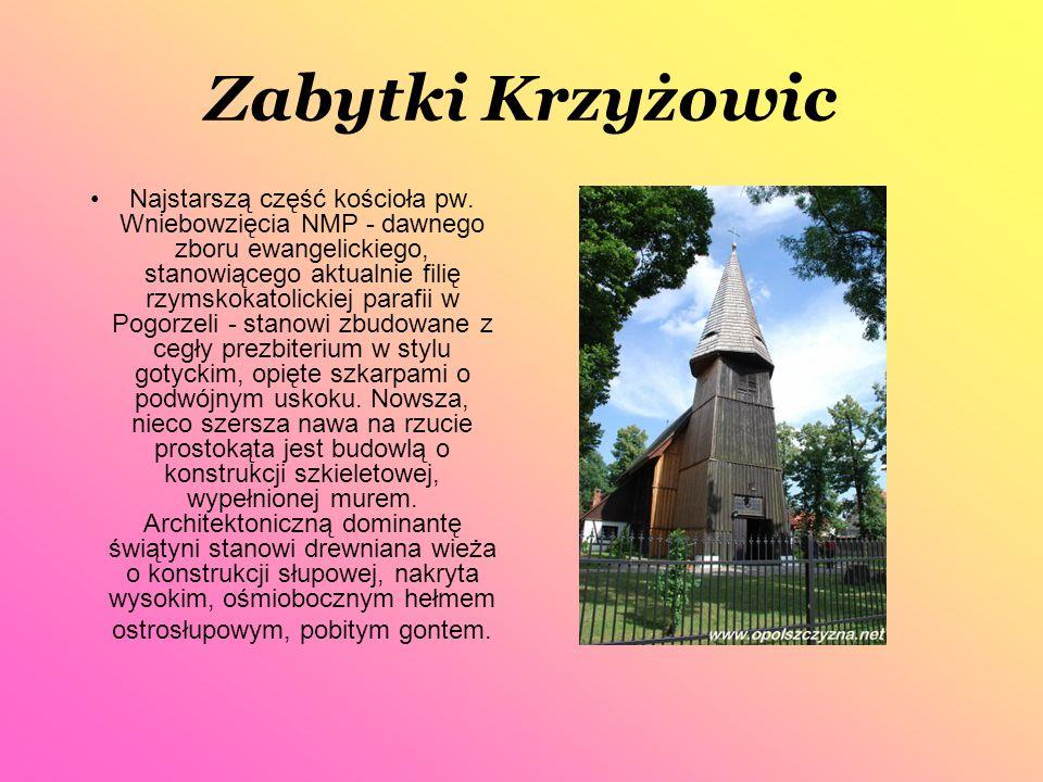 Polichromia w Małujowicach Małujowice, wieś położona w odległości kilku kilometrów na południowy zachód od Brzegu, znana jest przede wszystkim z polichromii gotyckiego kościoła.