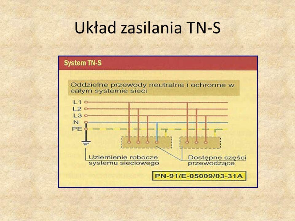 Układ zasilania TN-S