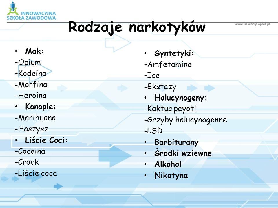Narkomania (z greckiego narke – odurzenie, mania – szaleństwo), patologiczne zjawisko społeczne, uzależnienie spowodowane krótszym lub dłuższym zażywa