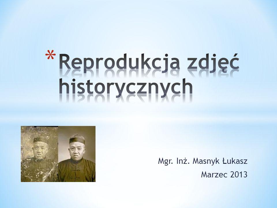 Mgr. Inż. Masnyk Łukasz Marzec 2013