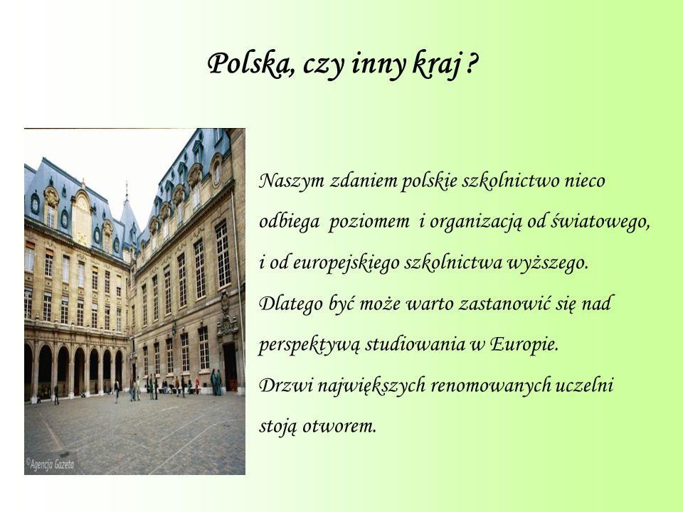 Polska, czy inny kraj .