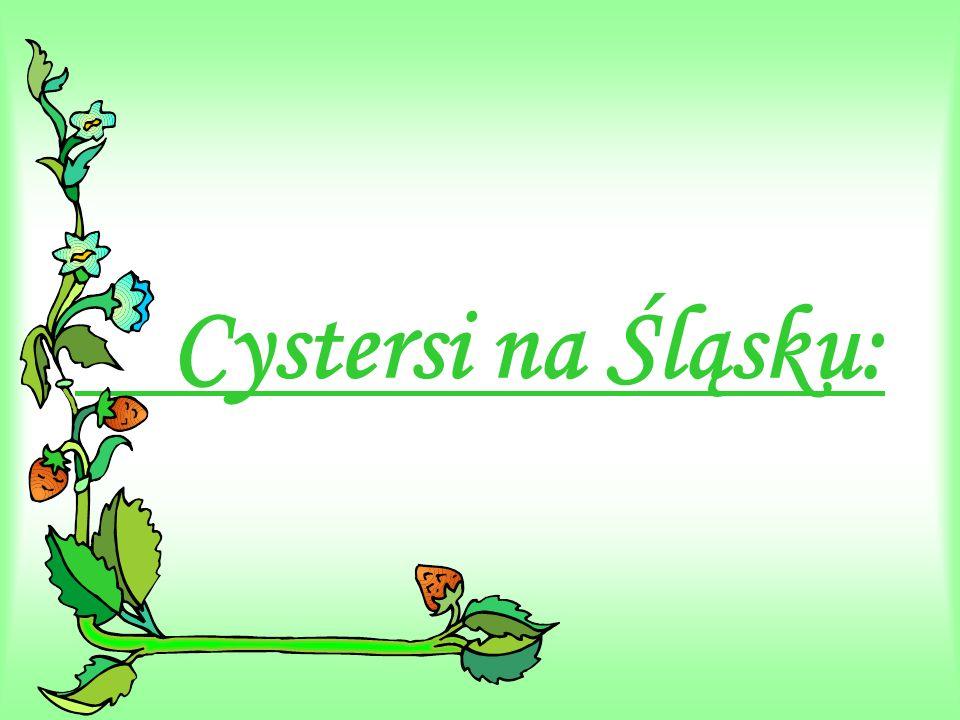 Cystersi na Śląsku: