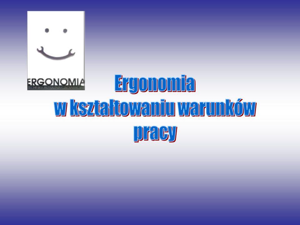 1.Pojęcie ergonomii.2.Ergonomia korekcyjna i koncepcyjna.