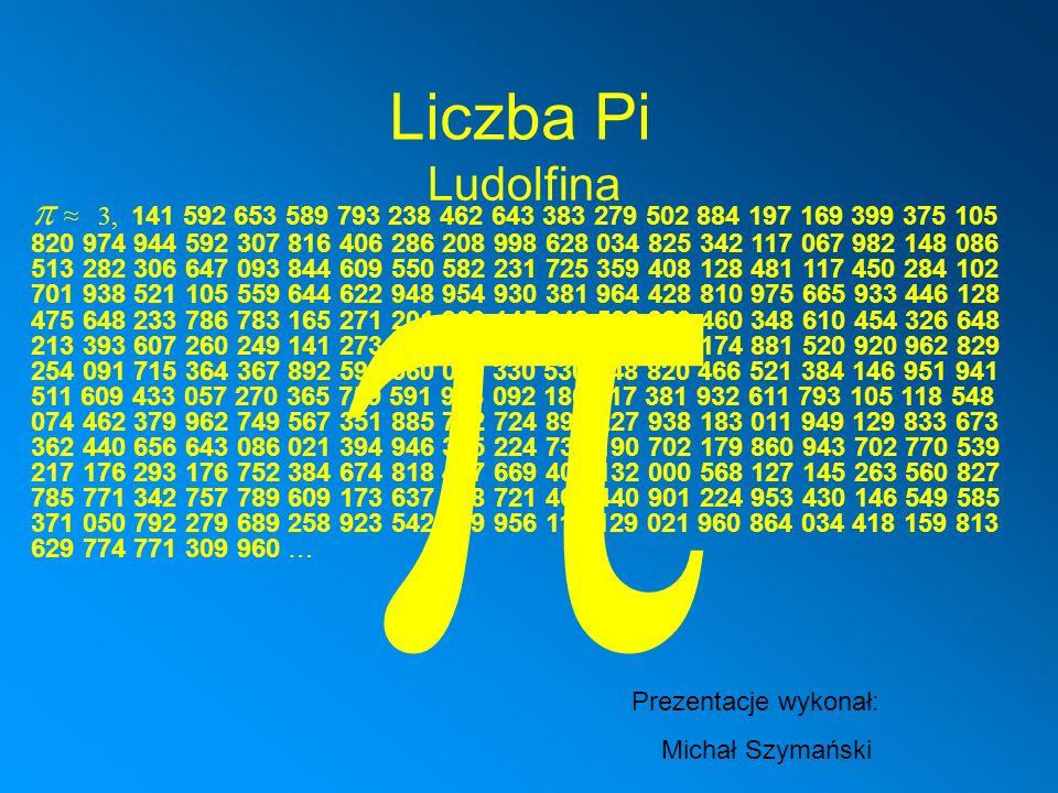 Na całym świecie wielbiciele matematyki obchodzą dziś Dzień Liczby Pi.