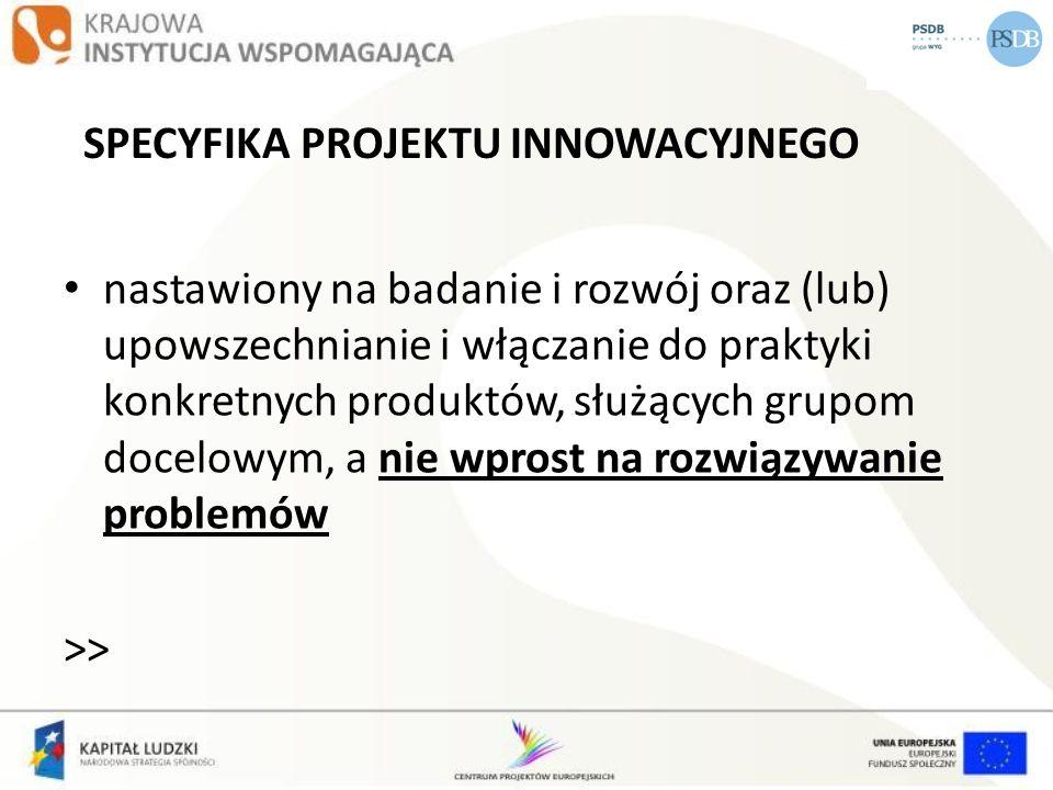 PROJEKTY PONADNARODOWE DWA TYPY PROJEKTÓW: 1.wyodrębnione projekty współpracy ponadnarodowej 2.projekty z komponentem współpracy ponadnarodowej (w tym projekty innowacyjne z komponentem współpracy ponadnarodowej)