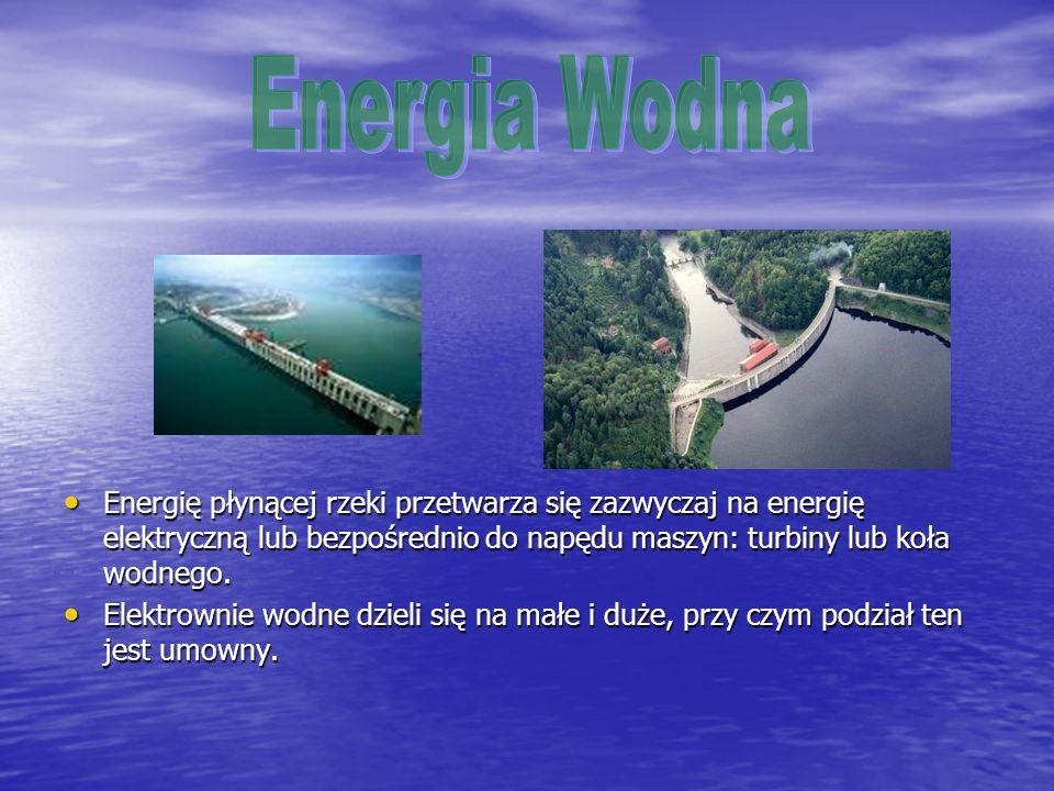 Ocenia się, że z energii wiatru można uzyskać moc 40 TW.
