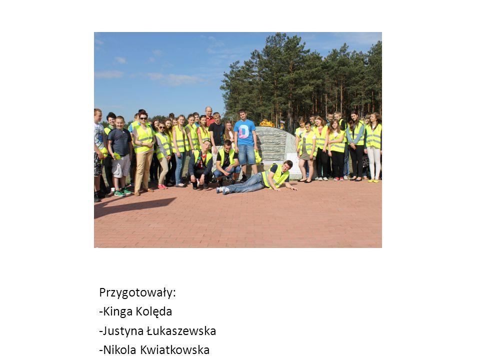 Przygotowały: -Kinga Kolęda -Justyna Łukaszewska -Nikola Kwiatkowska