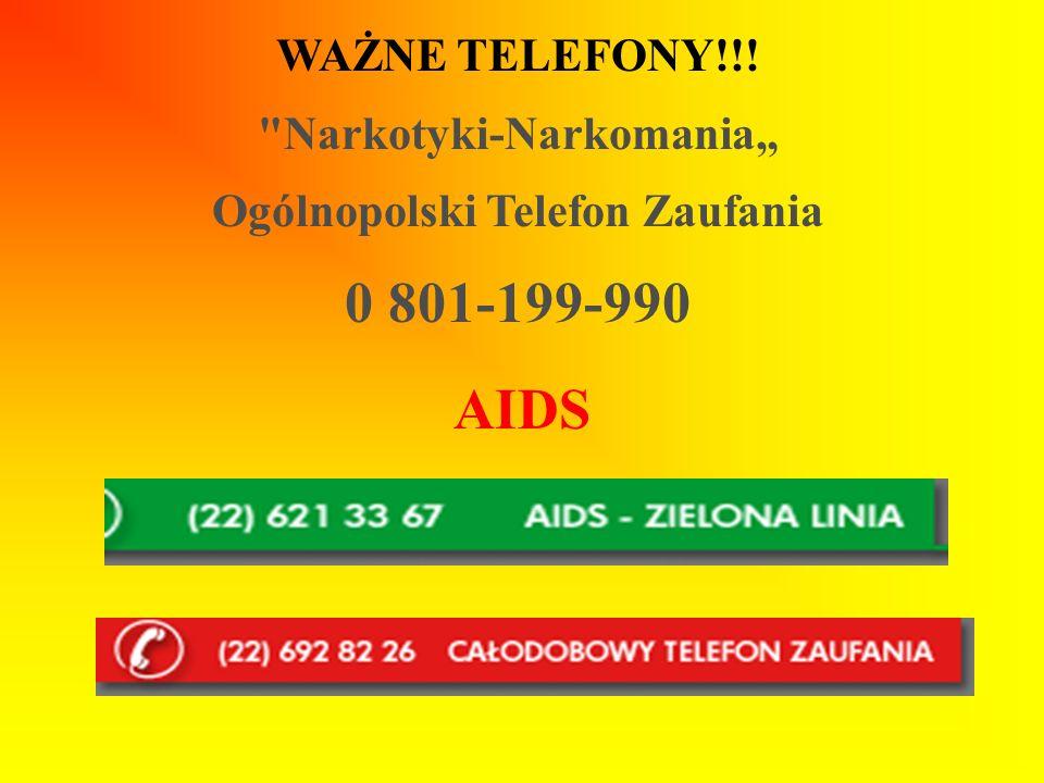 WAŻNE TELEFONY!!!