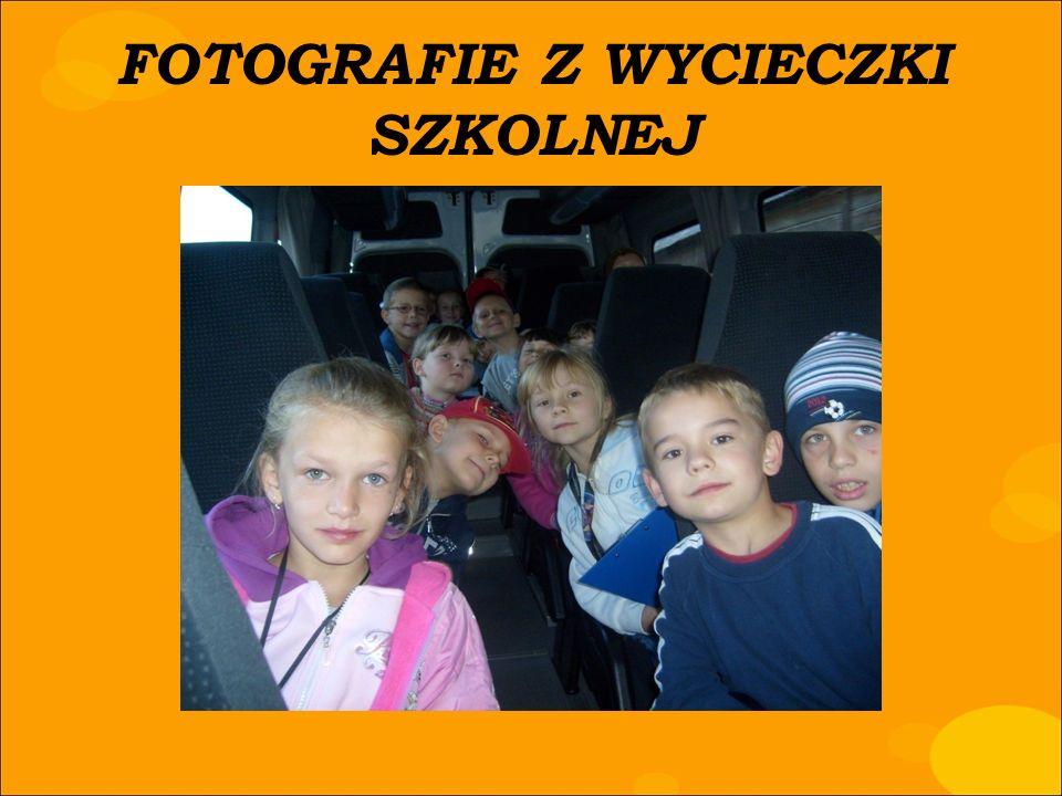 FOTOGRAFIE Z WYCIECZKI SZKOLNEJ