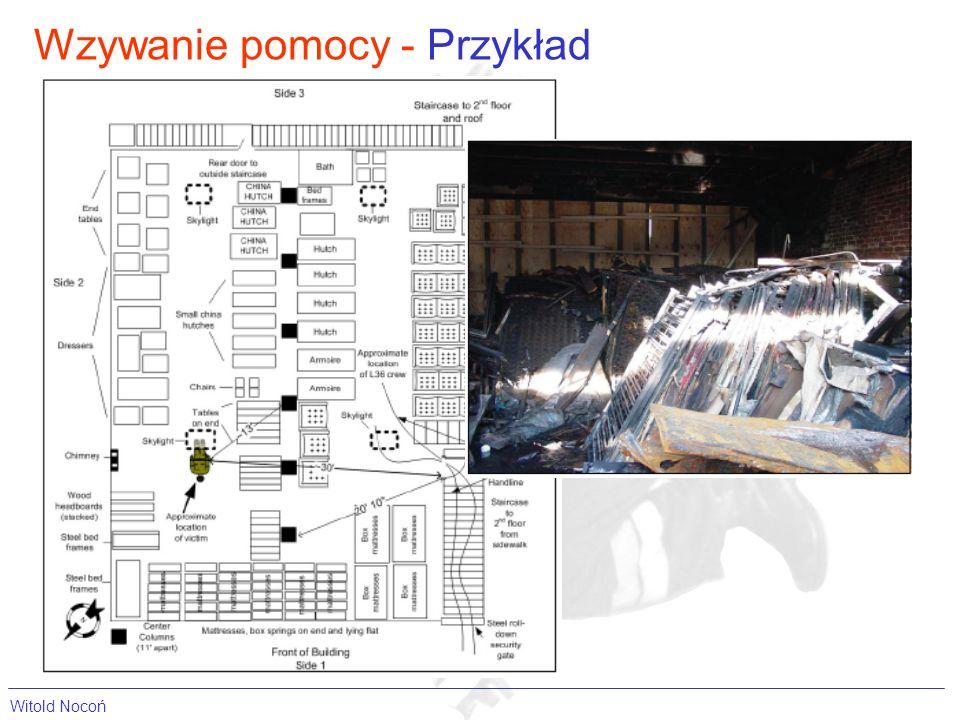 Wzywanie pomocy - Przykład Witold Nocoń