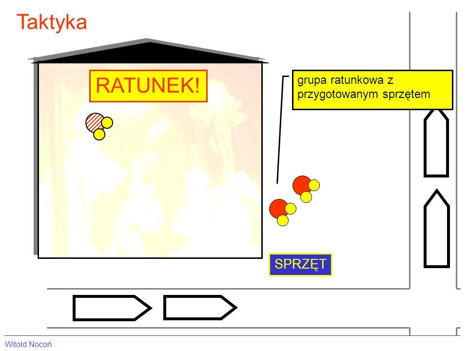 Taktyka grupa ratunkowa z przygotowanym sprzętem SPRZĘT RATUNEK! Witold Nocoń