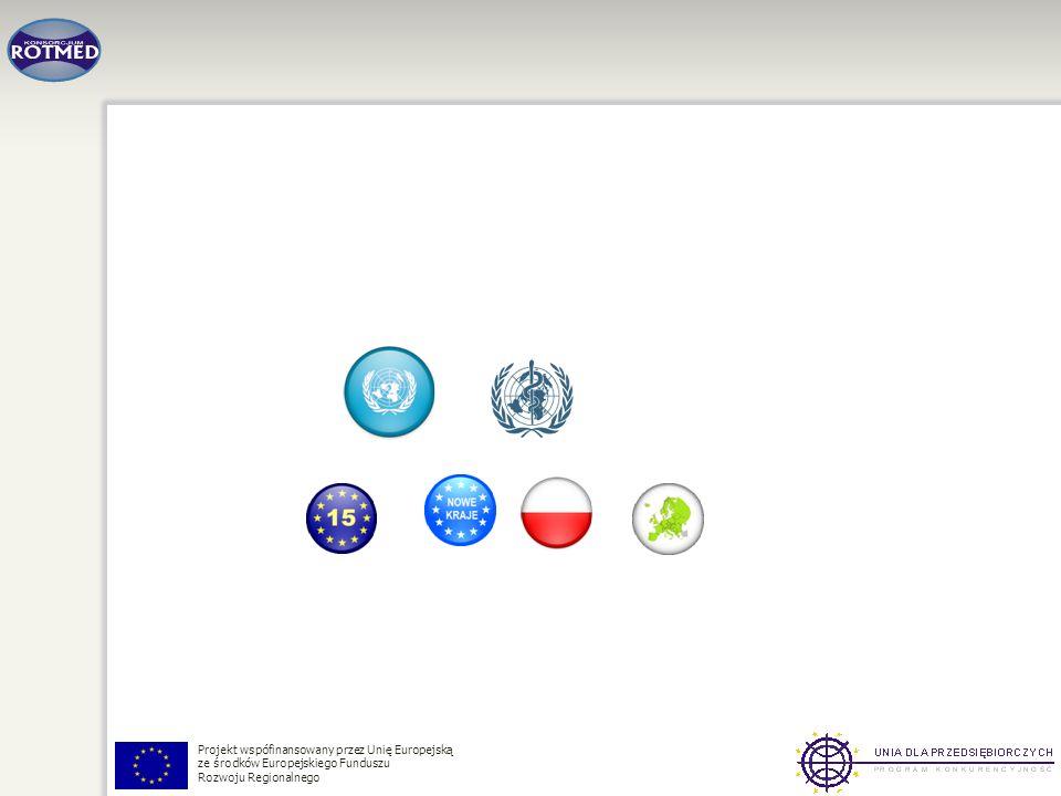 Projekt wspófinansowany przez Unię Europejską ze środków Europejskiego Funduszu Rozwoju Regionalnego
