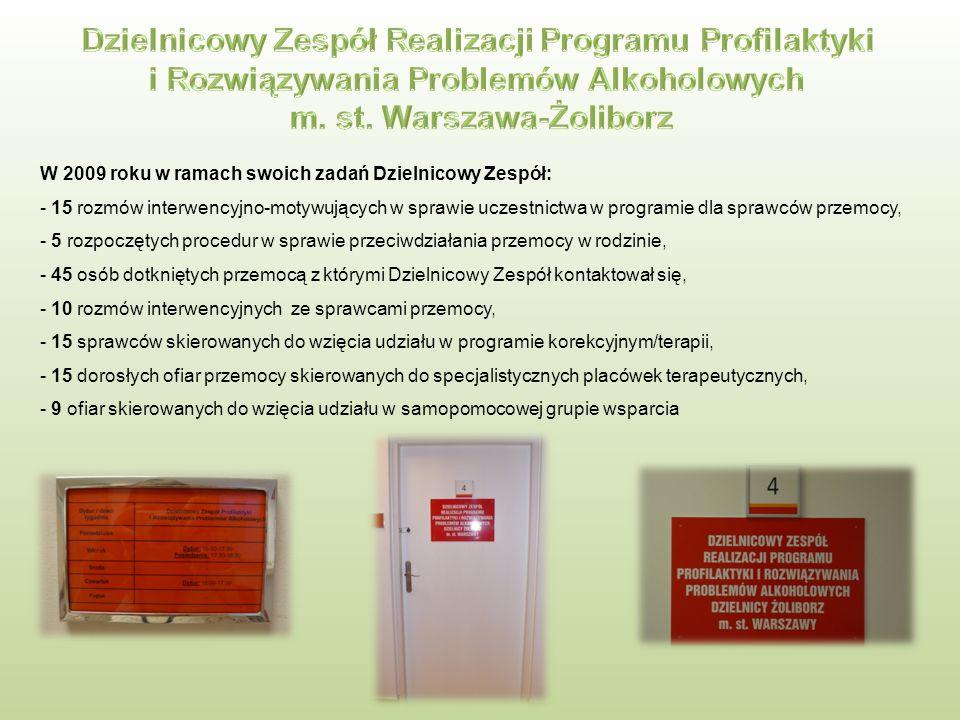 Fundacja Centrum Psychoedukacji i Mediacji Żoliborska rodzina wolna od przemocy Podczas warsztatów uczestniczy uczyli się konstruktywnych sposobów zachowań w sytuacjach trudnych, konfliktowych.