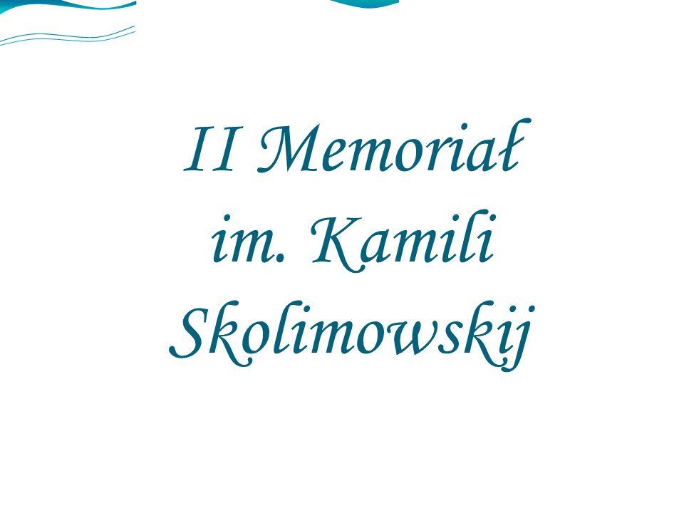 II Memoriał im. Kamili Skolimowskij