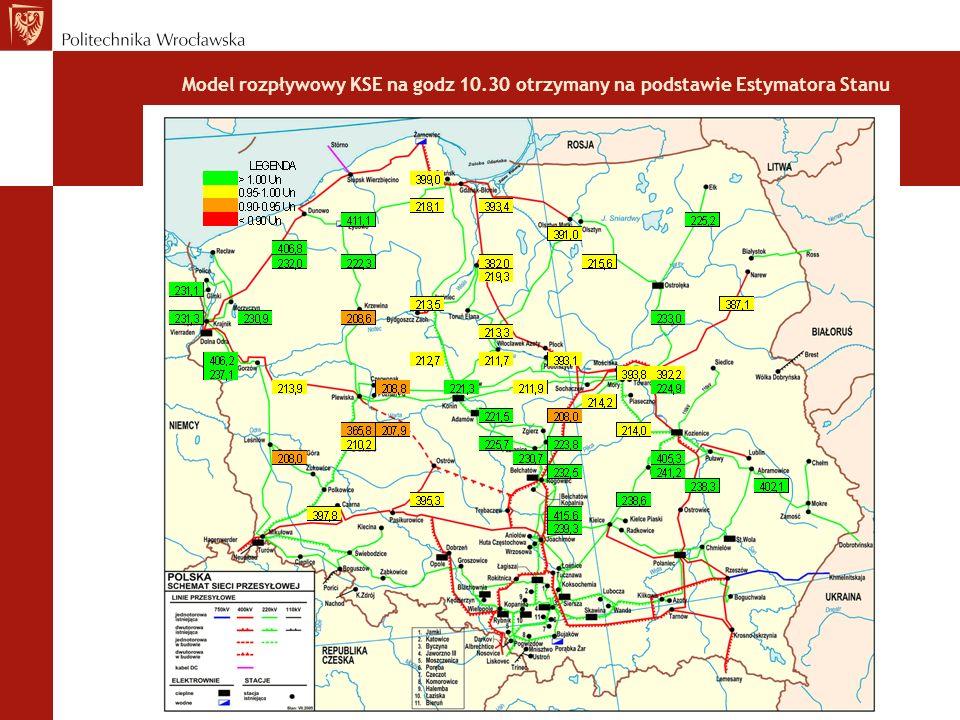 Rys. 7. Proces przywracania napięć w sieci 400/220/110 kV, na przykładzie stacji Płock 400/110 kV.
