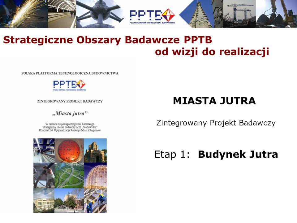 Strategiczne Obszary Badawcze PPTB – od wizji do realizacji Aktywna współpraca w ramach sieci narodowych platform technologicznych budownictwa skupionych w ECTP - EurekaBuild - 7 Program Ramowy: REG CON, Cost Effect, Perfection Współpraca z innymi platformami technologicznymi na poziomie krajowym i międzynarodowym (7 PR) - C-IEQ – Polska Platforma Przemysłu Tekstylnego - Międzynarodowe Centrum Słuchu i Mowy