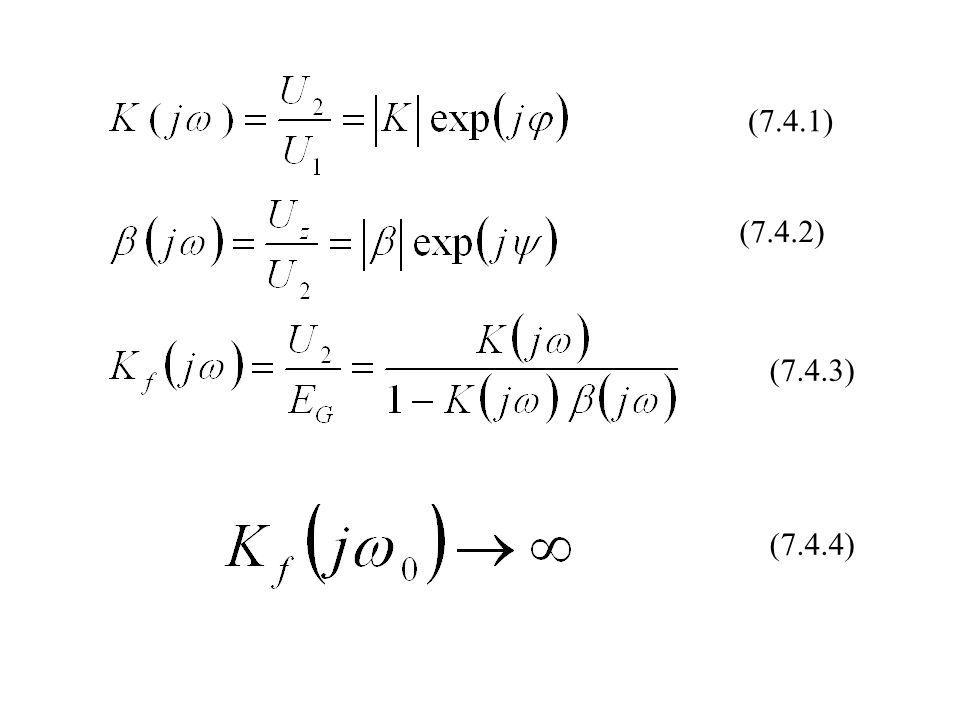 Warunek fazy dla generatora Colpitssa Warunek fazy dla generatora Hartleya (7.5.