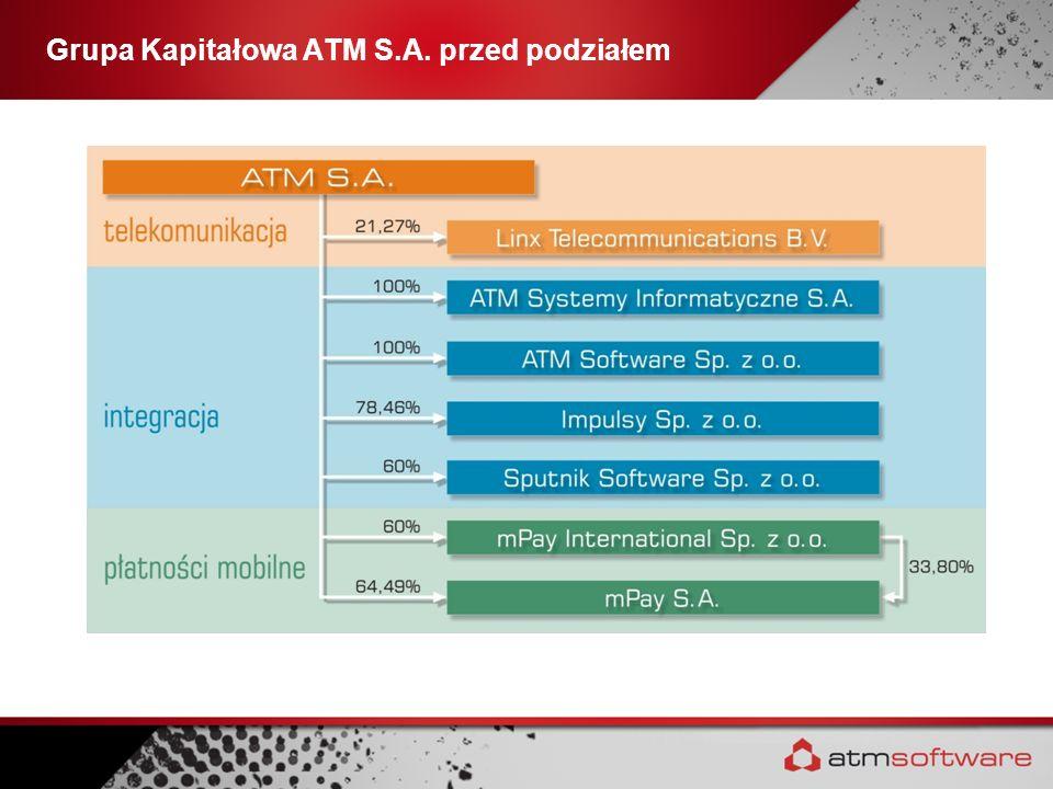 Grupa Kapitałowa ATM S.A. przed podziałem