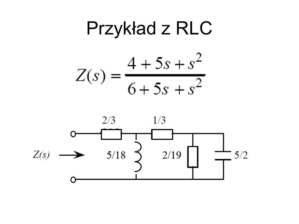 Przykład z RLC