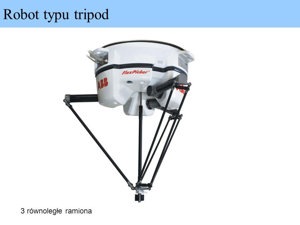 Robot typu tripod 3 równoległe ramiona