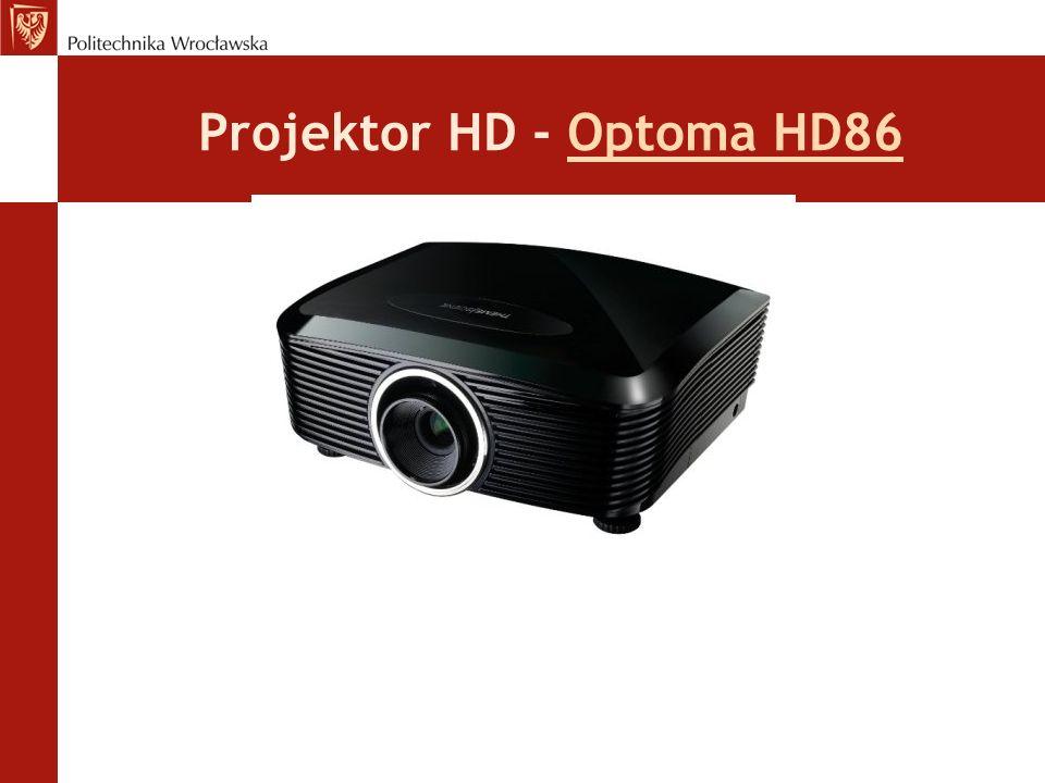 Projektor HD - Optoma HD86Optoma HD86