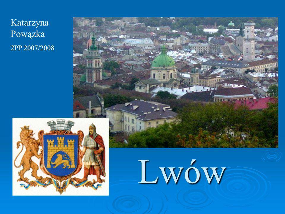 Plan prezentacji: Zarys historii Lwowa Pojęcie miasta nowoczesnego Rozwój Lwowa na przełomie XIX i XX wieku Lwów jako miasto nowoczesne Podsumowanie