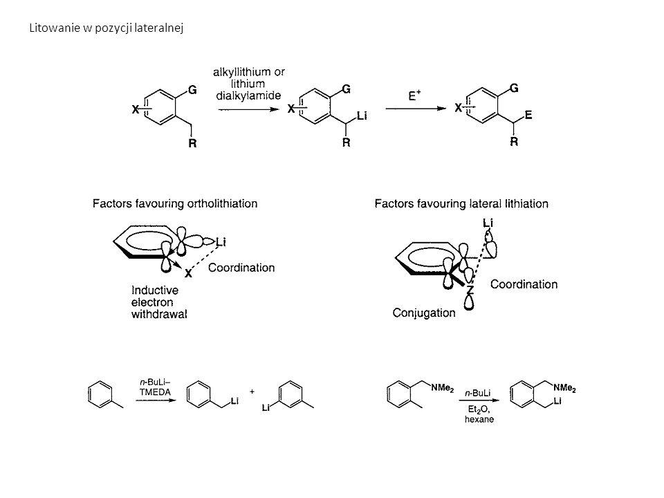 Inne reakcje sprzęganie między nukleofilami i elektrofilami C(sp 2 )-X Reakcje Kumady, Stilla, Suzuki, Negishi, Buchwalda-Hartwiga, Sonogashiry, Ullmana (Ni, Pd, Cu)