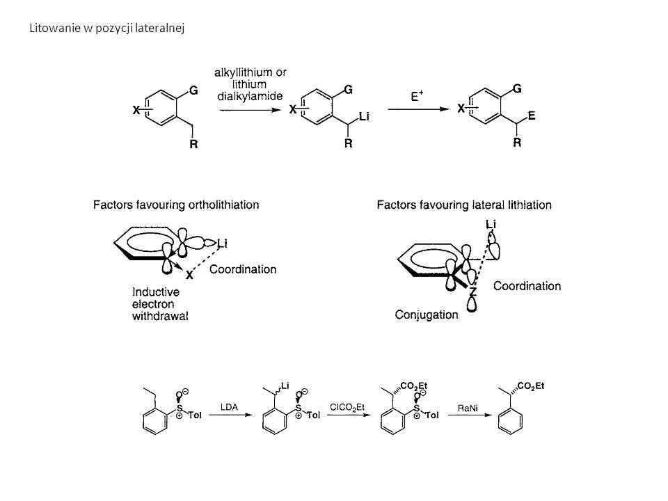 Addycja nukleofilowa do π kompleksów pallad-alken