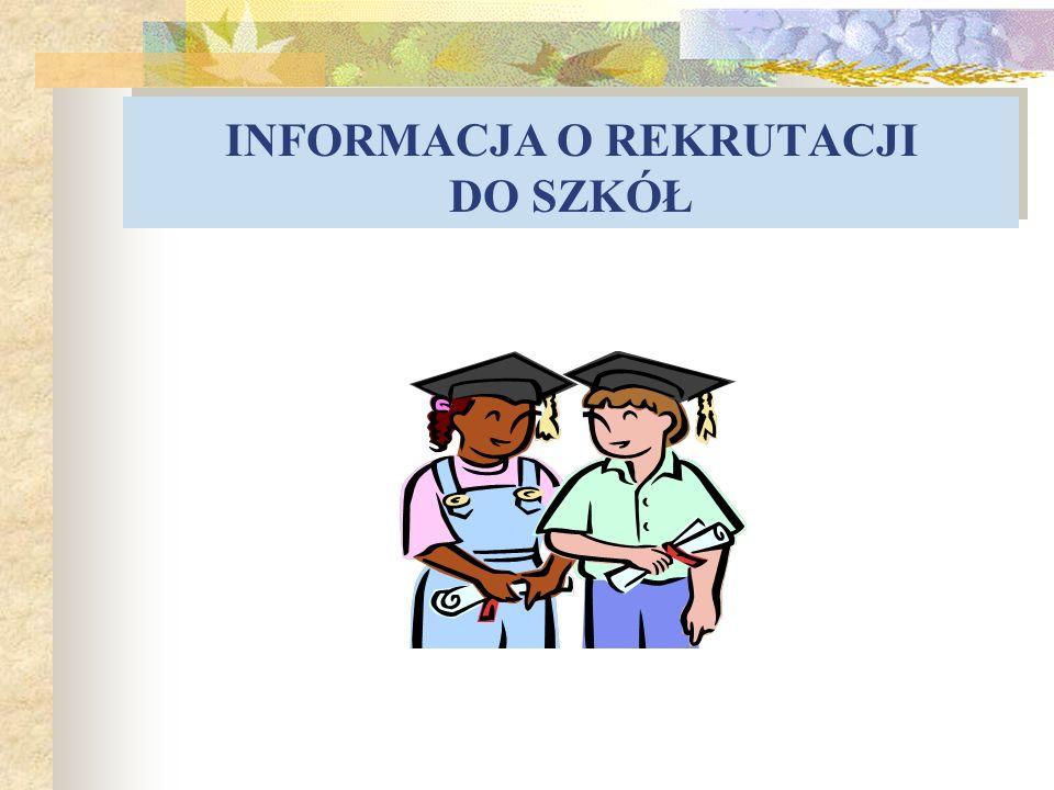 O czym będzie......1. Zasady rekrutacji 2. Informacja o naborze elektronicznym 3.