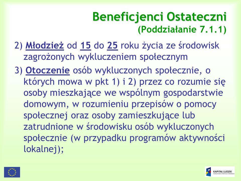27 Źródła finansowania projektów systemowych – wkład własny (2) Zasiłki i pomoc w naturze ze środków JST (cz.2): b)świadczenia pieniężne i niepieniężne na usamodzielnianie osób opuszczających placówki opiekuńczo-wychowawcze schroniska dla nieletnich, zakłady poprawcze i ośrodki szkolno- wychowawcze oraz na kontynuowanie nauki przez te osoby (zaliczonych do Działu 852, Rozdział 85201) z wyjątkiem: pomocy w uzyskaniu odpowiednich warunków mieszkaniowych, w tym w mieszkaniu chronionym, pomocy w uzyskaniu zatrudnienia, pomocy na zagospodarowanie - w formie rzeczowej dla osób usamodzielnianych (art.