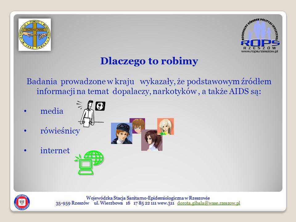 Wojewódzka Stacja Sanitarno-Epidemiologiczna w Rzeszowie 35-959 Rzeszów ul. Wierzbowa 16 17 85 22 111 wew.311 dorota.gibala@wsse.rzeszow.pl dorota.gib