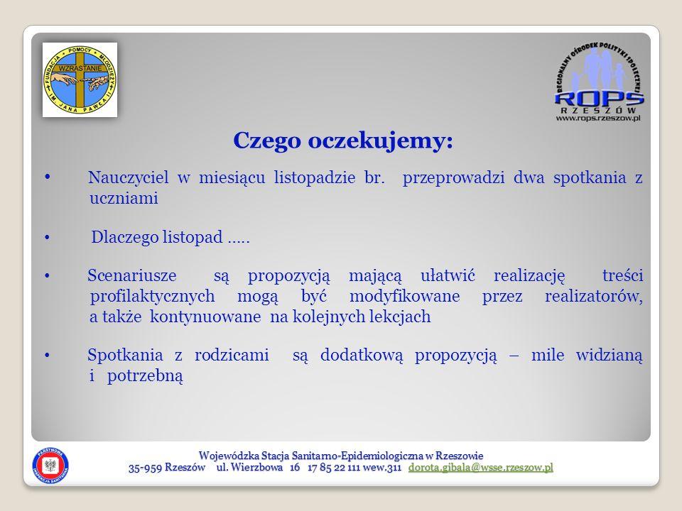 Wojewódzka Stacja Sanitarno-Epidemiologiczna w Rzeszowie 35-959 Rzeszów ul.