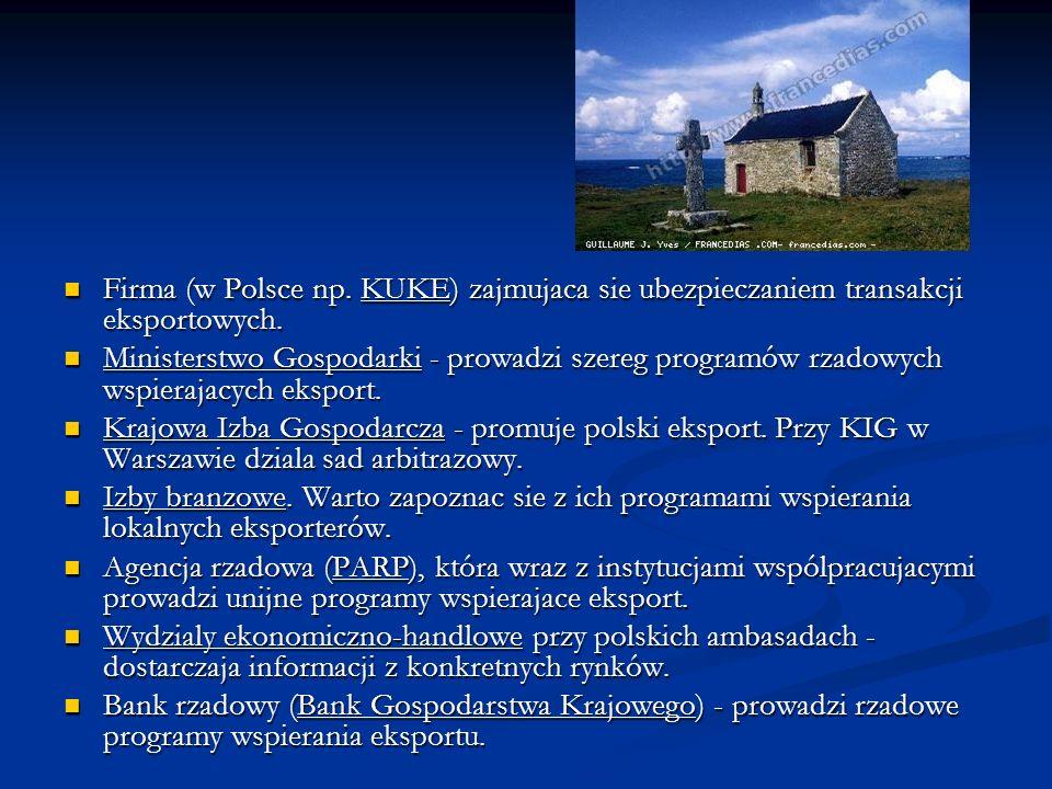 Firma (w Polsce np. KUKE) zajmujaca sie ubezpieczaniem transakcji eksportowych. Firma (w Polsce np. KUKE) zajmujaca sie ubezpieczaniem transakcji eksp