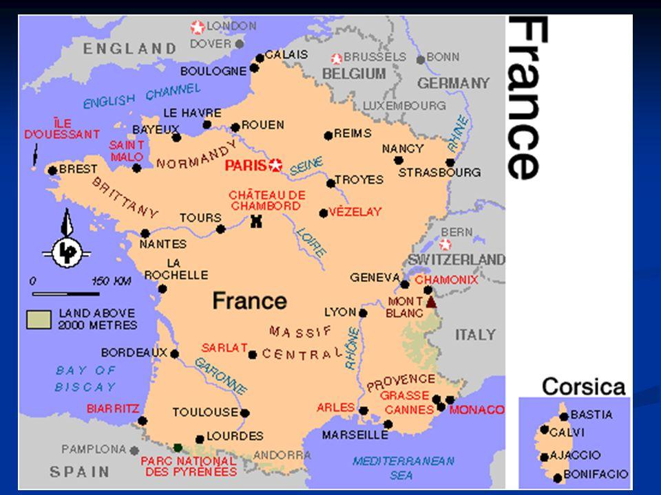 Ludność Francje zamieszkuje prawie 61,5 mln osób (drugie miejsce po Niemczech w rozszerzonej UE).