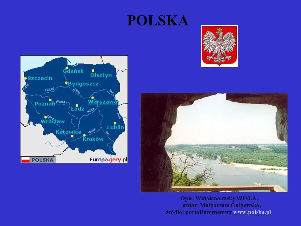 POLSKA Opis: Widok na rzekę WISŁA, autor: Małgorzata Gulgowska, źródło: portal internetowy www.polska.plwww.polska.pl
