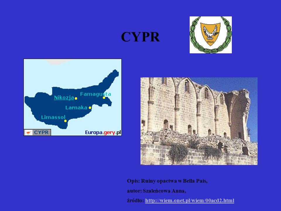 CYPR Opis: Ruiny opactwa w Bella Pais, autor: Szaleńcowa Anna, źródło: http://wiem.onet.pl/wiem/00acd2.htmlhttp://wiem.onet.pl/wiem/00acd2.html