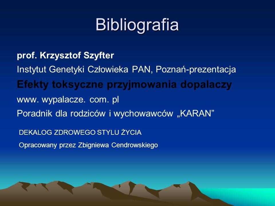 Bibliografia prof.