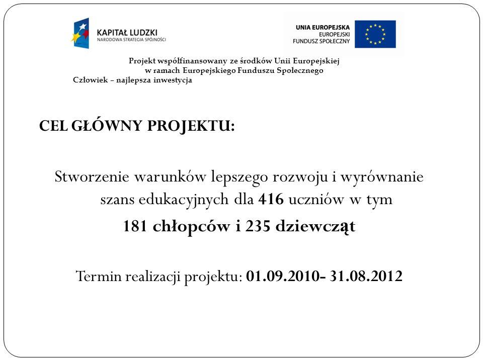 Biuro projektu: Urz ą d Gminy i Miasta w Lubomierzu, pok.