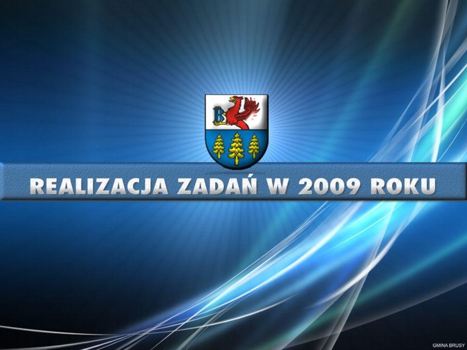 Budowa odcinka ul.Księdza Czarnowskiego w Brusach nakłady poniesione przed 2009 r.