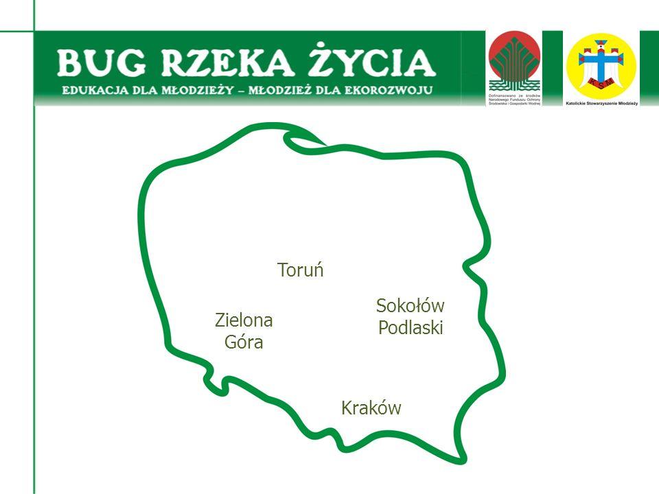 Kraków Zielona Góra Sokołów Podlaski Toruń