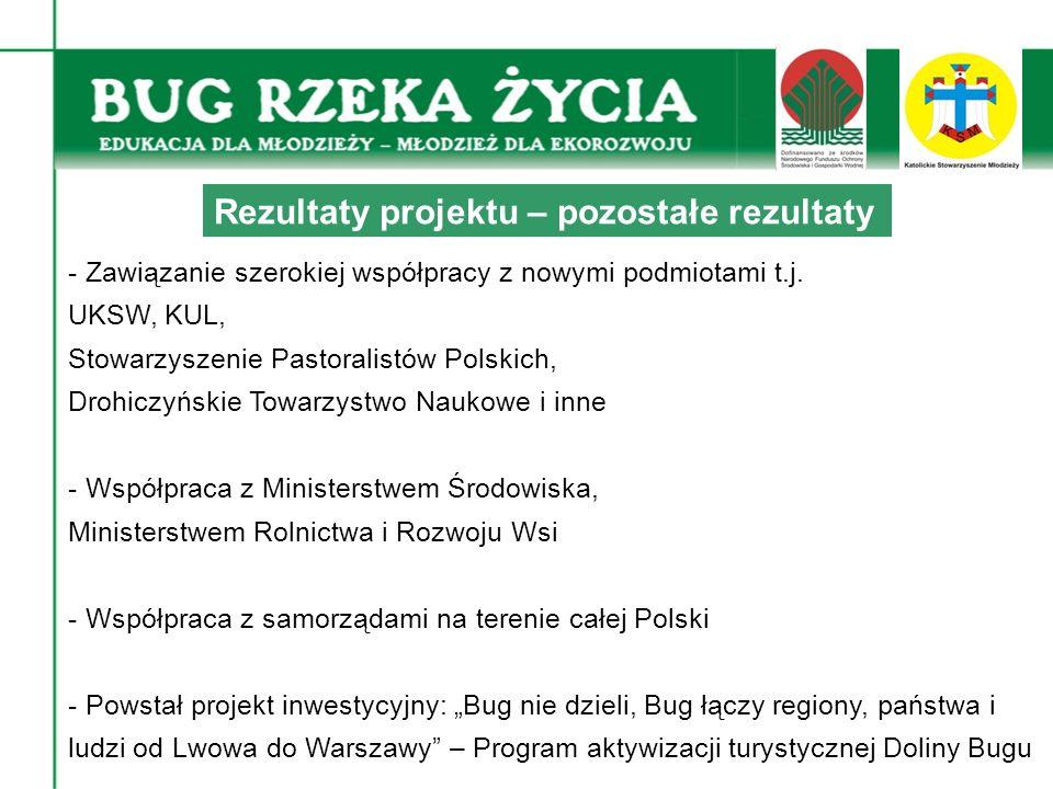 - Zawiązanie szerokiej współpracy z nowymi podmiotami t.j.