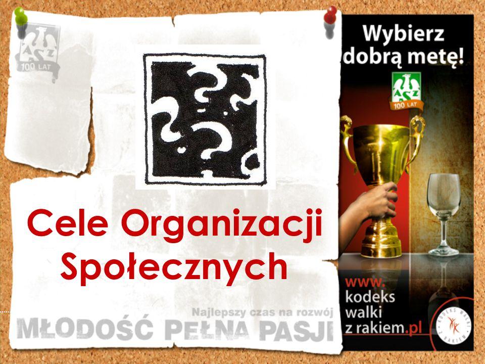 Cele Organizacji Społecznych