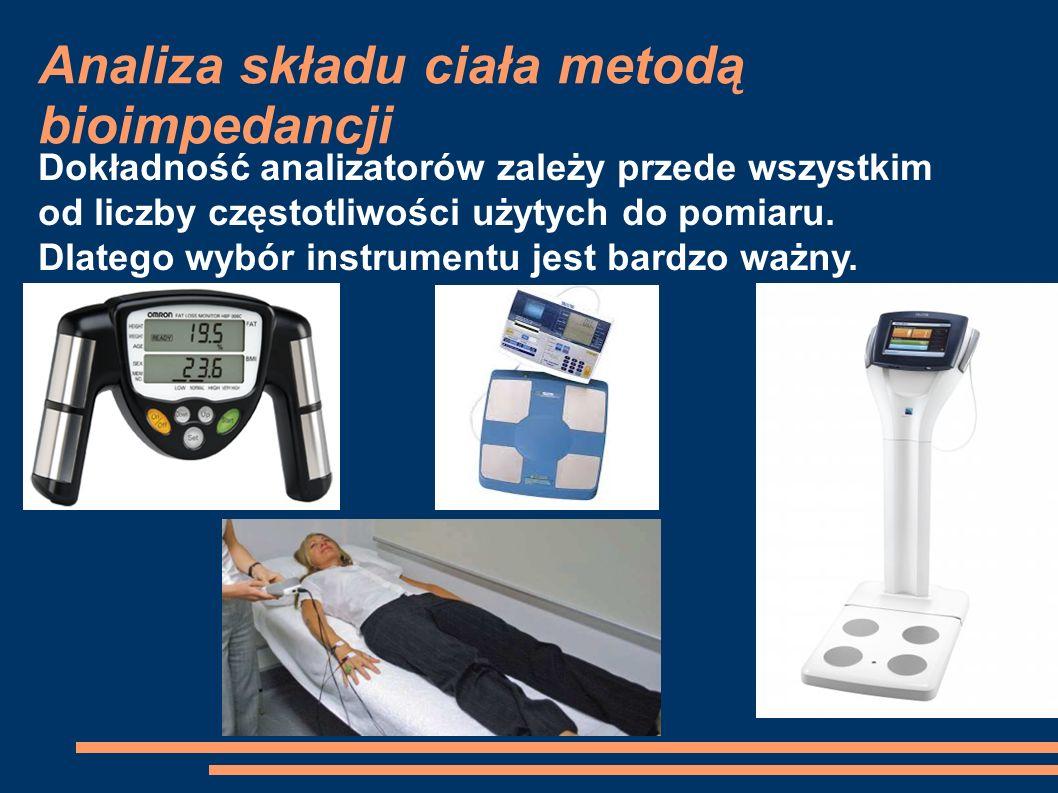 Dokładność analizatorów zależy przede wszystkim od liczby częstotliwości użytych do pomiaru. Dlatego wybór instrumentu jest bardzo ważny.